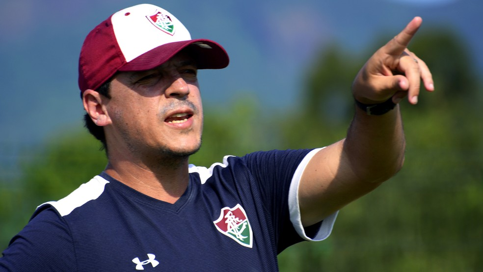 Fernando Diniz é o novo comandante do Fluminense para 2019 — Foto: Lucas Merçon/Fluminense FC