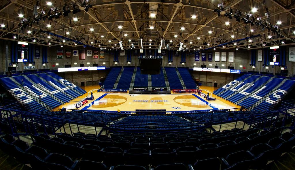 Alumni Arena, projetado por Robert Coles (Foto: Divulgação)
