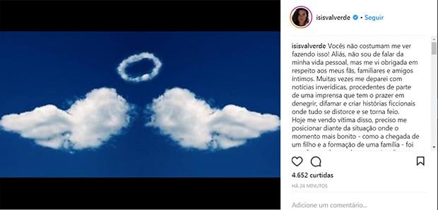 Prints do Instagram (Foto: Reprodução/ Instagram)