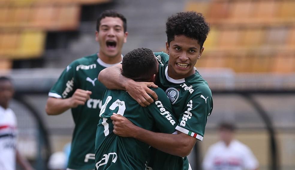Gabriel Silva brilhou na base do Palmeiras em 2019 — Foto: Ag. Palmeiras