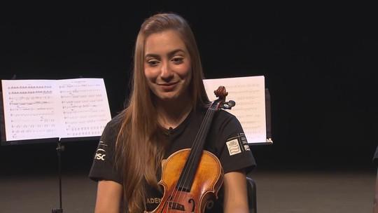 Jovens músicos ganham oportunidade de melhorar a performance