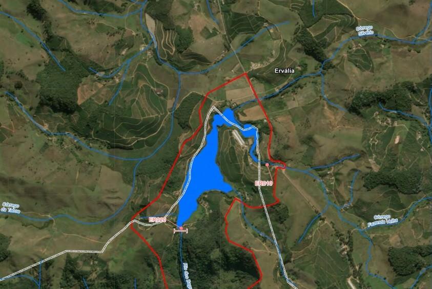 Volume de reservatório de hidrelétrica aumentou 13 vezes por conta de temporal em Guiricema, MG