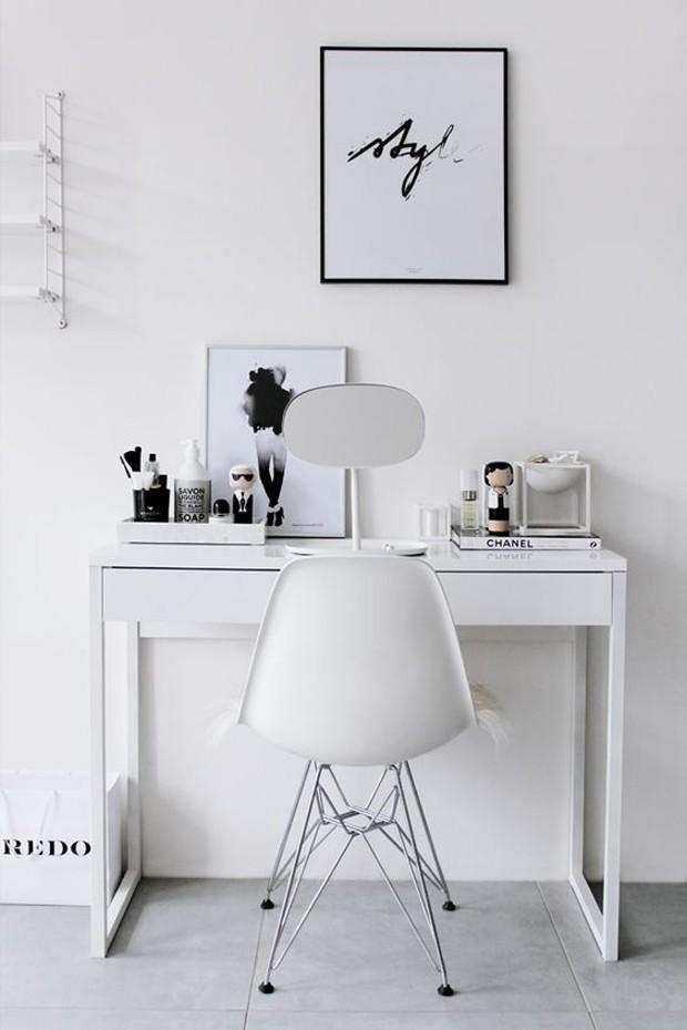 Penteadeiras: 8 ideias para se inspirar (Foto: Reprodução/ Pinterest)