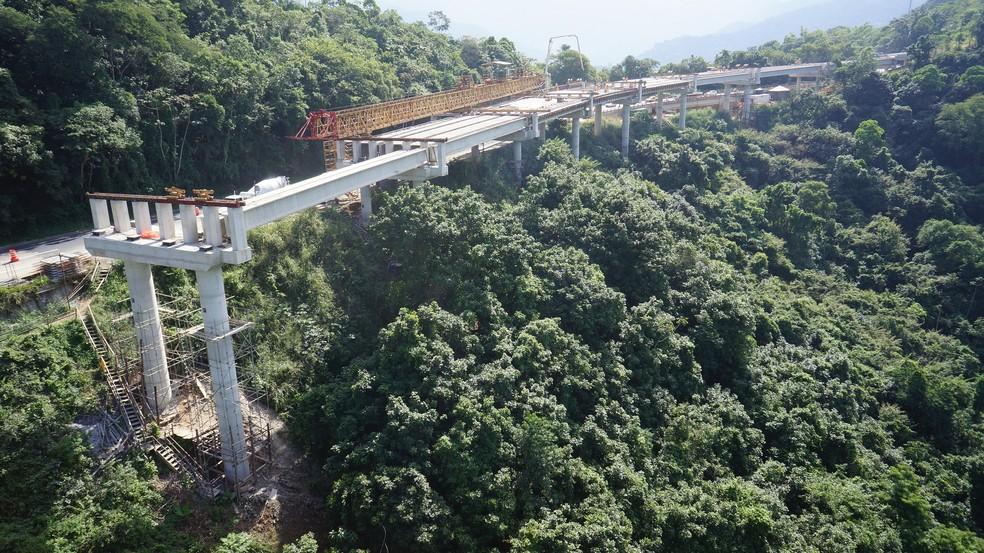 Obras de construção da nova pista estão paralisadas desde julho de 2016 (Foto Arquivo 2015) (Foto: Divulgação/Concer)