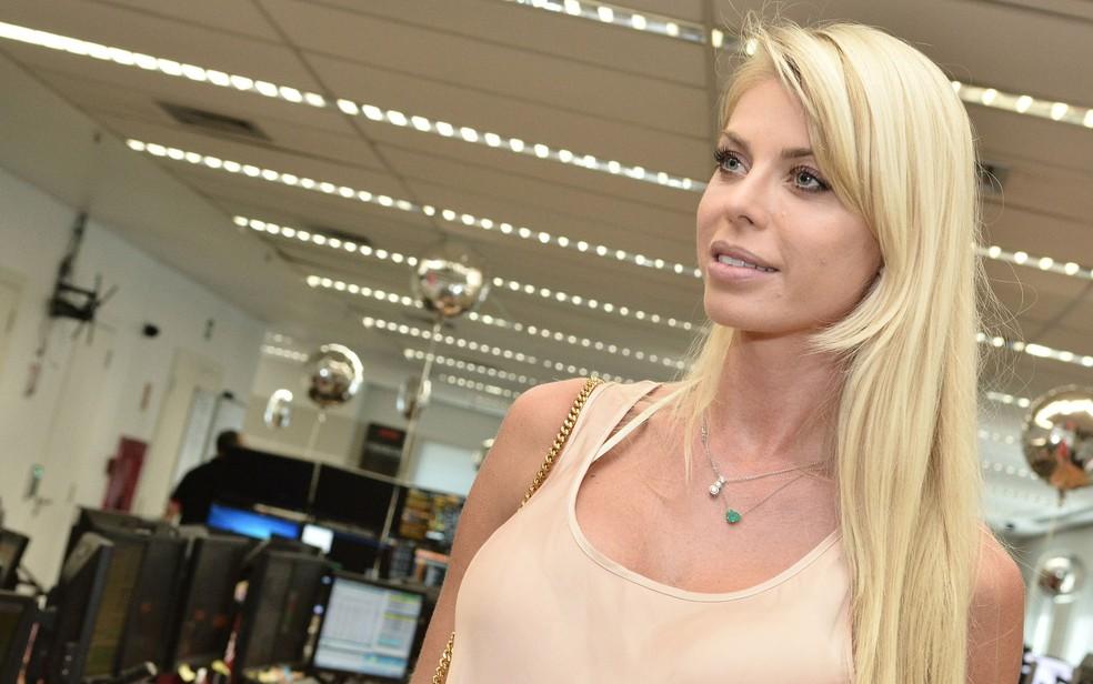 Corpo da modelo Caroline Bittencourt foi encontrado  nesta segunda-feira (29) em São Sebastião, SP — Foto: Iara Morselli/Estadão Conteúdo