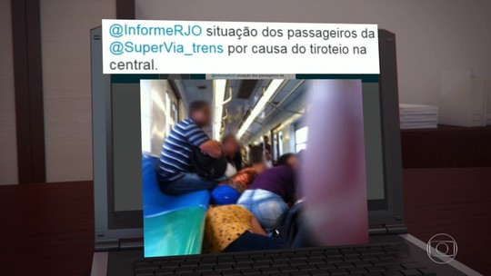 Operação policial na Zona Norte do Rio leva pânico a usuários de trens