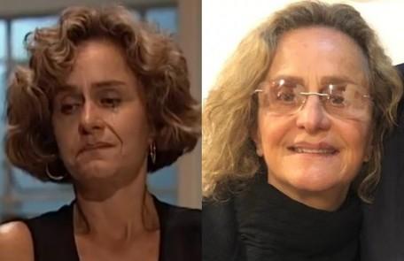 Intérprete da Lídia na trama de Manoel Carlos, Regina Braga está longe da TV desde 2016, quando viveu Sílvia em 'A lei do amor' TV Globo-Divulgação