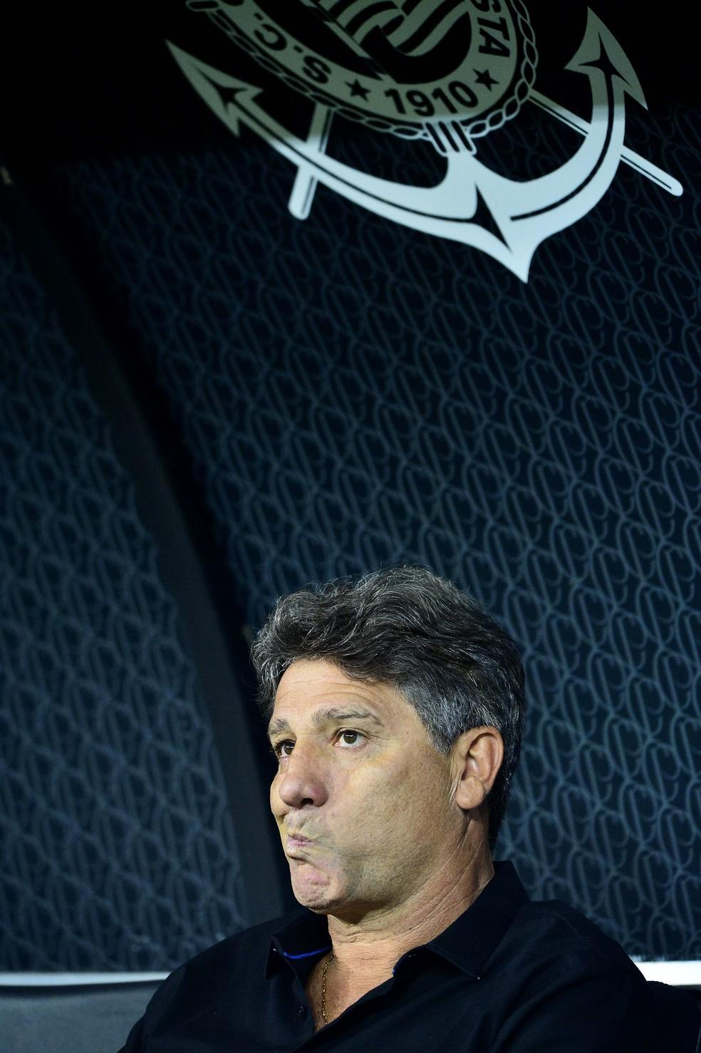 Renato Gaúcho não aceitou trabalhar no Corinthians — Foto: Marcos Riboli