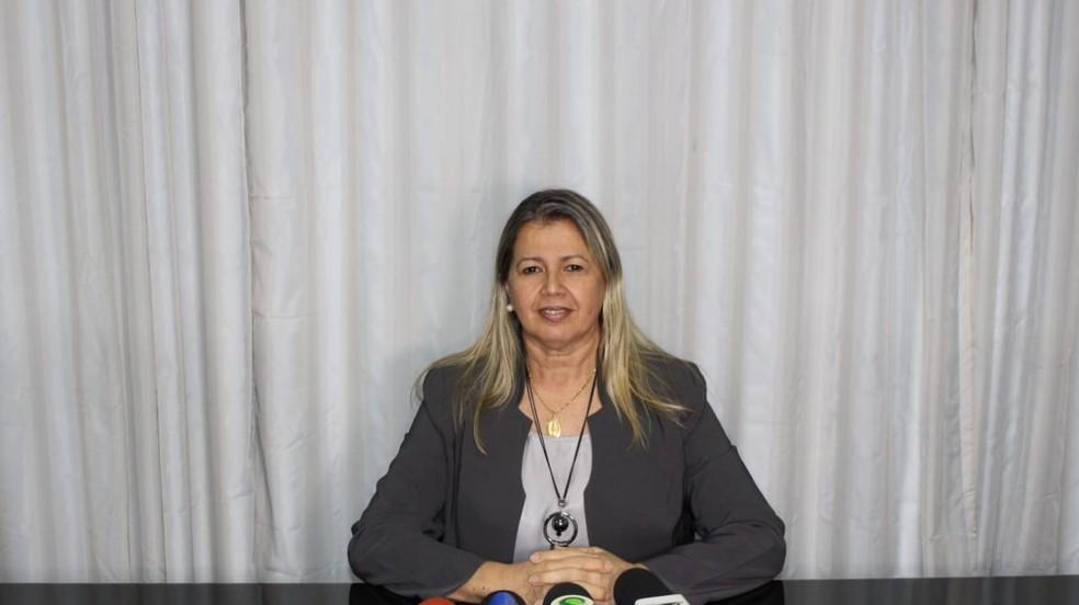 Socorro Melo, secretária de Saúde em Caxias (MA), testa positivo para Covid-19 — Foto: Divulgação/Prefeitura de Caxias