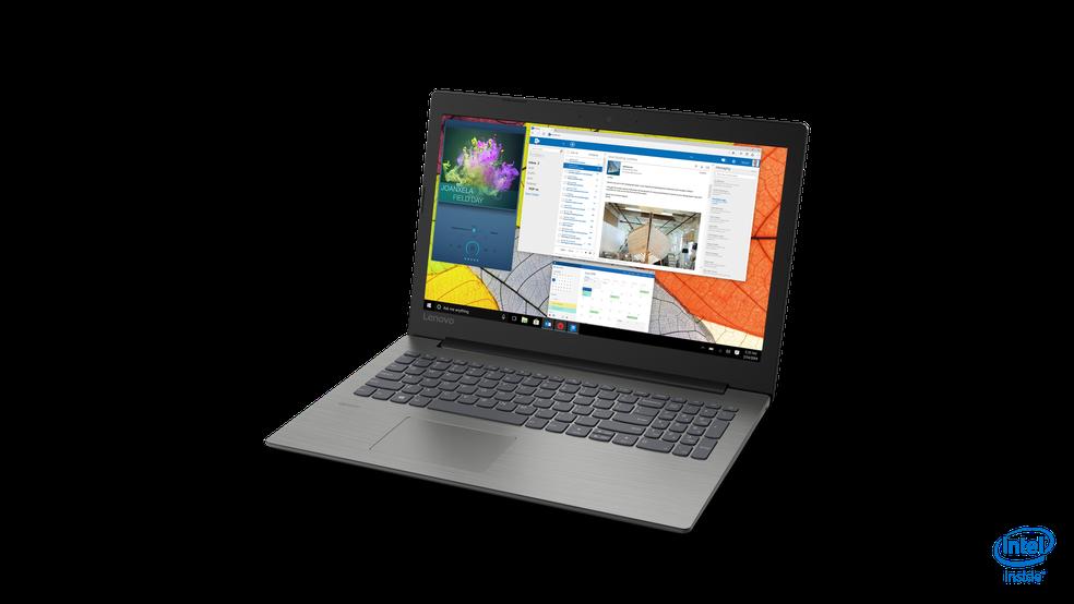 IdeaPad 330 tem versões de 15,6 polegadas com direito a teclado numérico e design ultrafino (Foto: Divulgação/Lenovo)