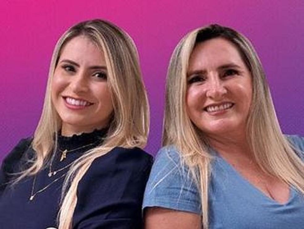 Mãe e filha são eleitas vereadores em Morada Nova, no Ceará — Foto: Divulgação