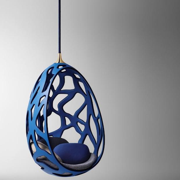 A Cocoon, uma das peças que inspirou o design das pop-ups da Vuitton em Campinas e Porto Alegre (Foto: Divulgação)