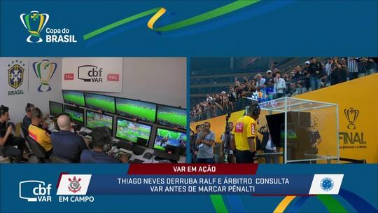 Comentaristas discutem influência do VAR na decisão da Copa do Brasil