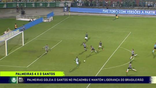 Comentaristas analisam a goleada do Palmeiras sobre o Santos