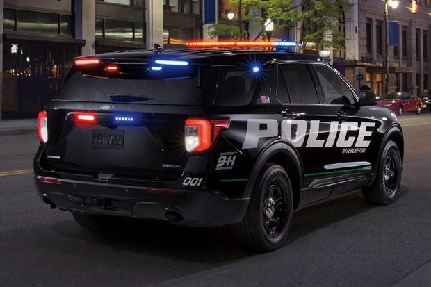 Ford Police Interceptor (Foto: Divulgação)