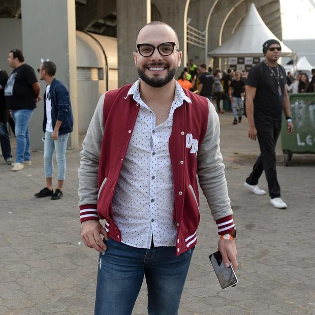 Mahmoud confere show de Ludmilla em SP (Foto: Brazil News/ Manuela Scarpa)