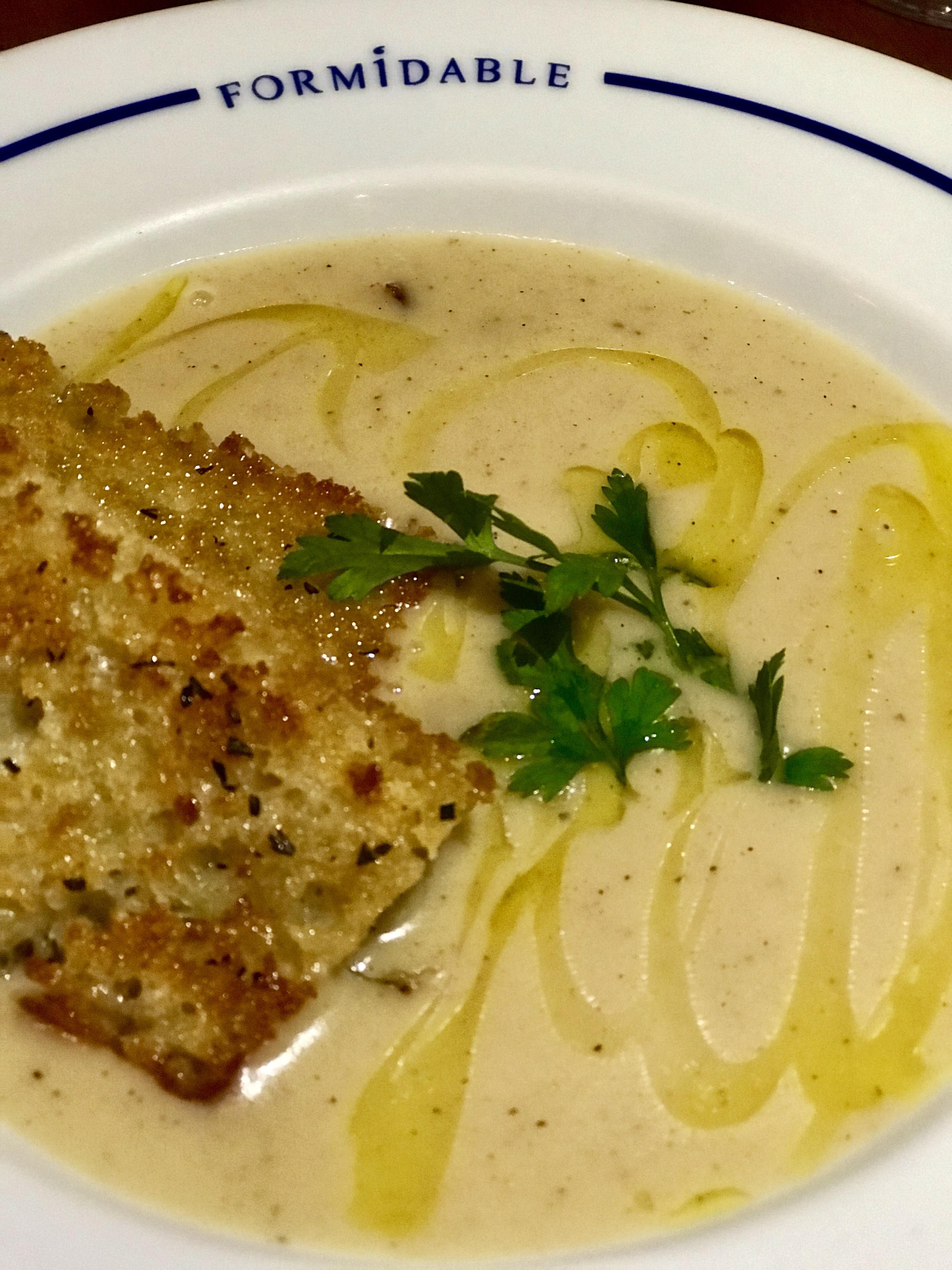 A sopa de batata do chef Pedro de Artagão (Foto: Divulgação)