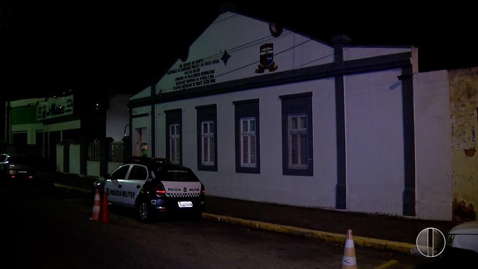 Carro do governador do RN foi roubado em Monte Alegre (Foto: Reprodução/Inter TV Cabugi)