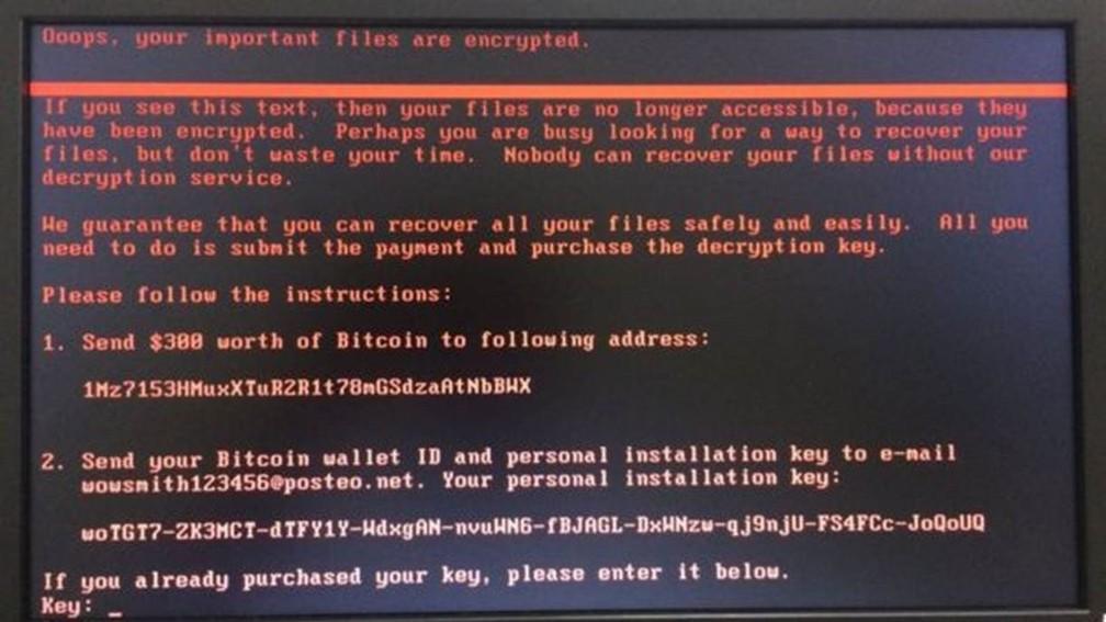 Hospital das Clínicas de Barretos recebeu pedido de resgate após infecção de computadores (Foto: Divulgação /HC de Barretos)