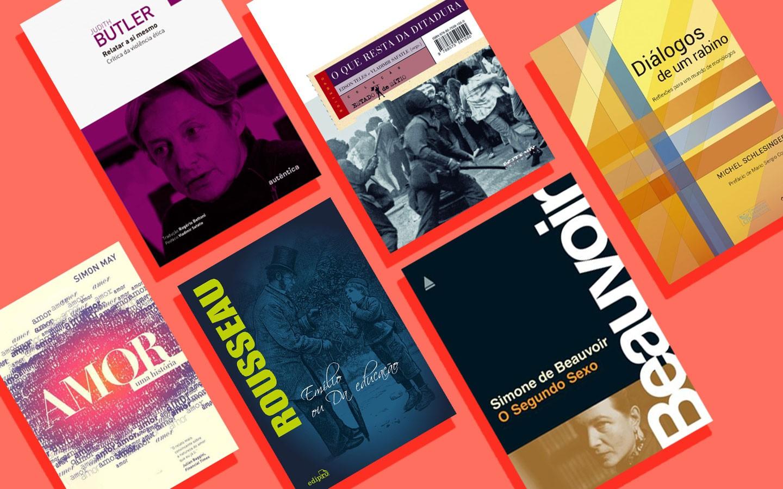 Livros que você, como pai, pode e deve ler para passar a seus filhos um mundo de amor pelo conhecimento (Foto: Divulgação / Arte GQ)