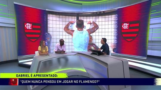 Grafite destaca que Gabigol saiu da zona de conforto ao aceitar jogar no Flamengo