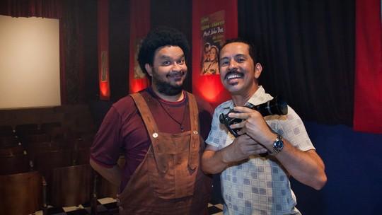 Edmilson Filho e Haroldo Guimarães falam sobre amizade de infância e parceria em 'Cine Holliúdy'