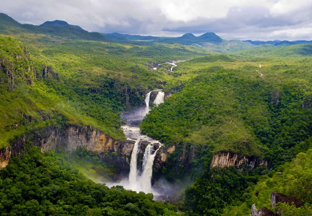 Chapada dos Veadeiros: polo de turismo ecológico da região em Alto Paraíso de Goiás (Foto: Divulgação)