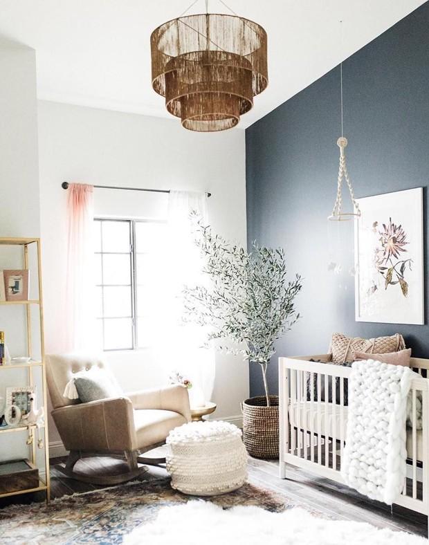 Décor do dia: elementos naturais no quarto de bebê (Foto: Divulgação)