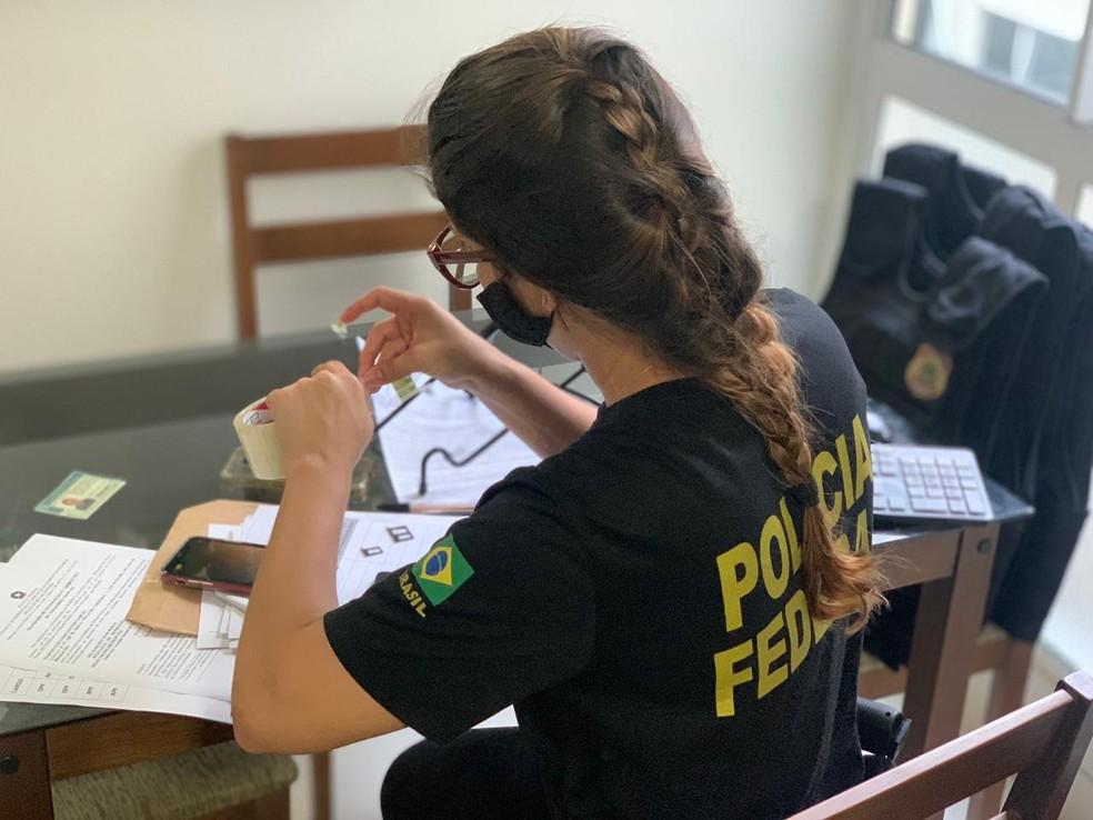 Polícia Federal deflagra operação contra desvios de verbas públicas destinadas a pandemia de Covid-19 no Maranhão — Foto: Divulgação/Polícia Federal