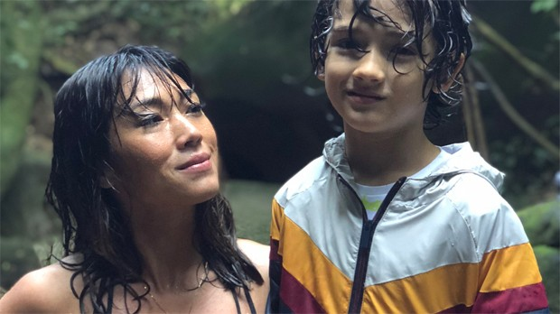 Danni Suzuki e Kauai (Foto: Reprodução/Instagram)