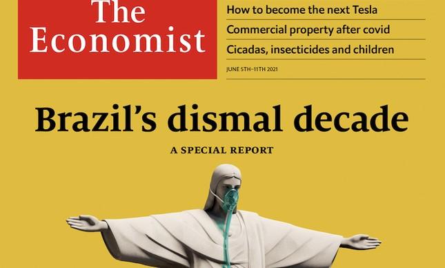 Revista The Economist traz reportagem com críticas a condução da pandemia no Brasil