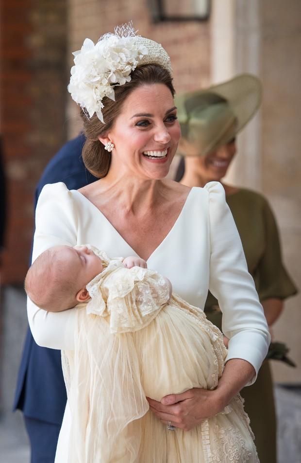 Kate Middleton e príncipe Louis (Foto: Getty Images)