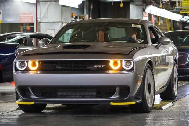 Dodge Challenger Protetor Para Choque (Foto: Divulgação)