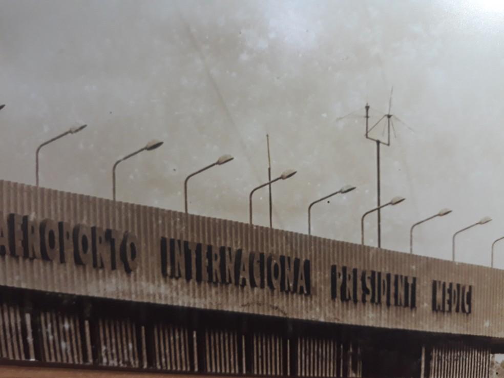 Aeroporto foi desativado após decisão judicial de desapropriação — Foto: Américo de Mello/Arquivo pessoal
