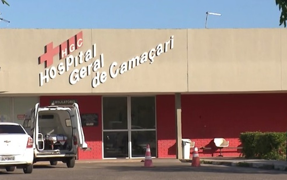 Caso ocorreu no Hospital Geral de Camaçari (HGC), na Bahia — Foto: Reprodução/ TV Bahia