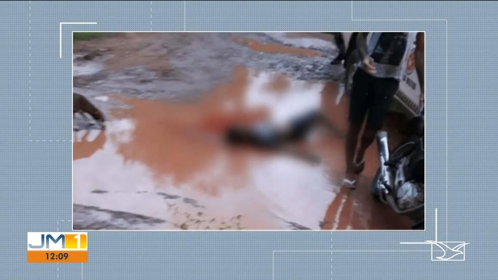 Adolescente foi morto na zona rural de Coelho Neto (MA) — Foto: Reprodução/TV Mirante