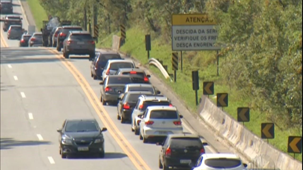 Feriado da independência movimenta rodovias para o litoral
