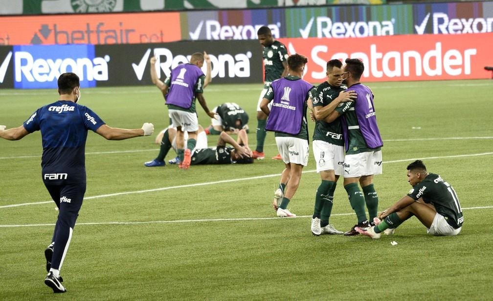 Palmeiras nem terá muito tempo para abstrair tudo o que aconteceu na noite de terça — Foto: Marcos Ribolli