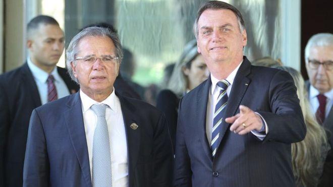 BBC: Apesar da resistência do próprio Jair Bolsonaro, a equipe econômica comandada pelo ministro Paulo Guedes segue firme no plano de criar um imposto sobre transações financeiras (Foto: AGÊNCIA BRASIL VIA BBC)