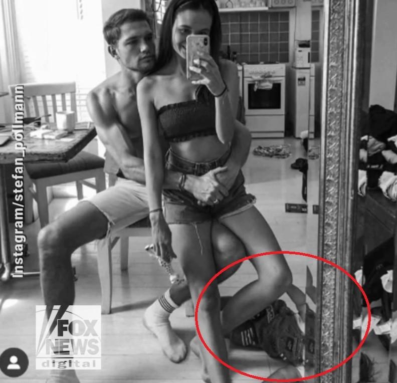 """Selfie de casal com bebê """"excluído"""" da foto em família viraliza (Foto: Reprodução)"""
