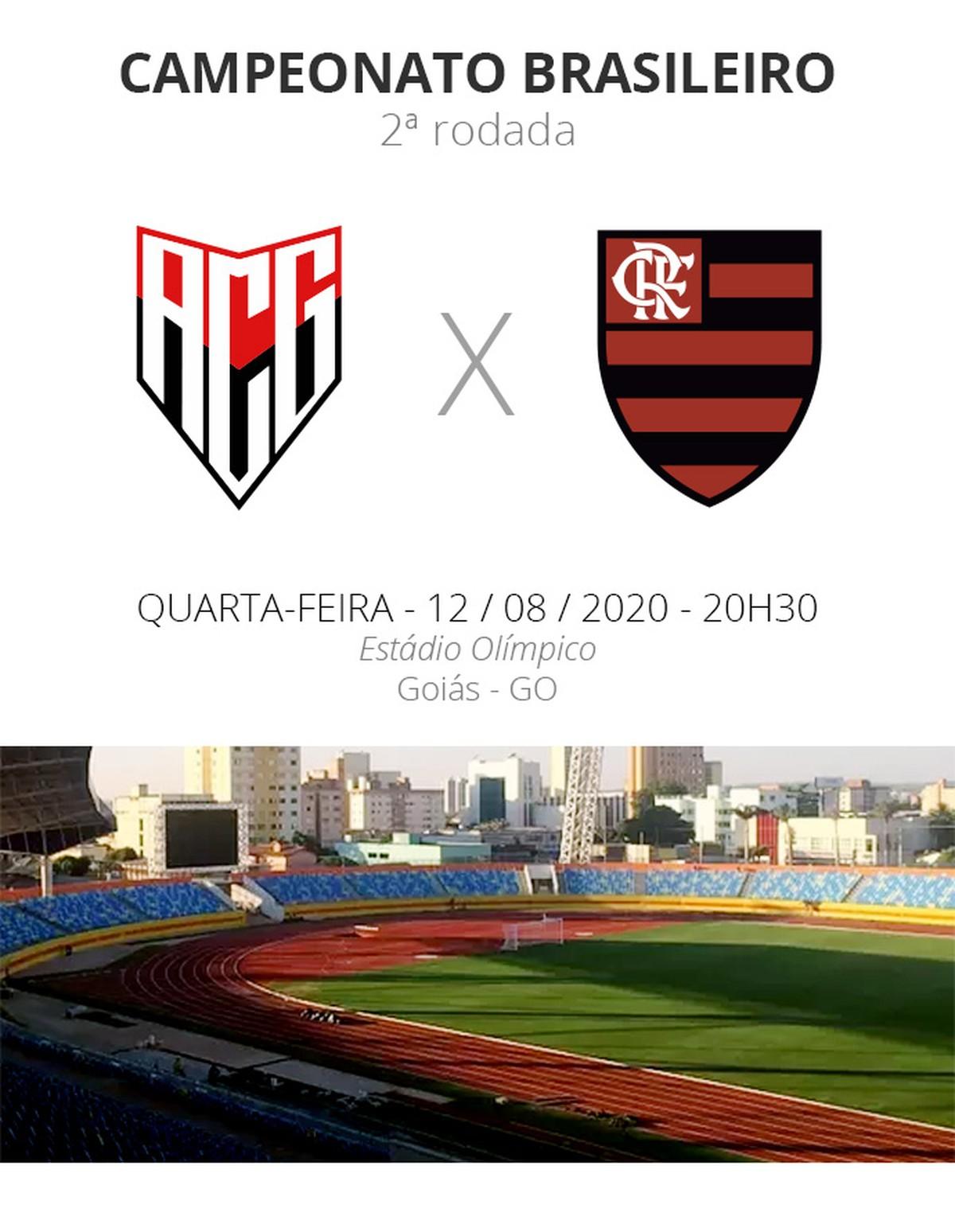 Atletico Go X Flamengo Veja Onde Assistir Escalacoes Desfalques E Arbitragem Brasileirao Serie A Ge
