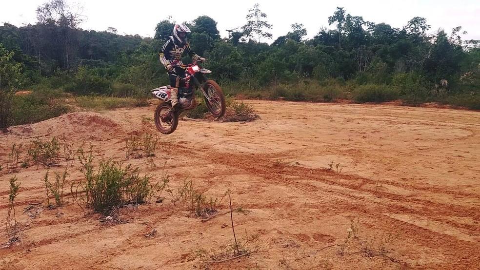 Empresário maranhense sofre acidente em trilha de motocicleta no  Pará  — Foto: Divulgação/Redes Sociais