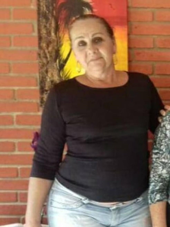 Susana morreu no local após marquise cair em cima dela em Praia Grande, SP — Foto: Reprodução/Facebook