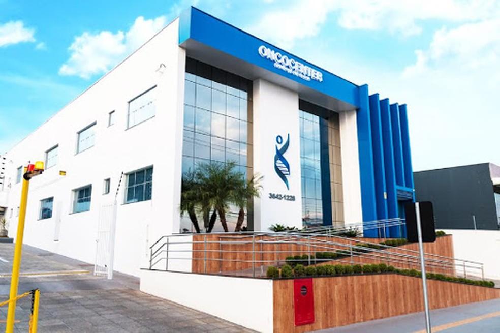 Oncocenter é o maior centro de oncologia de Cuiabá e Baixada Cuiabana. — Foto: Assessoria