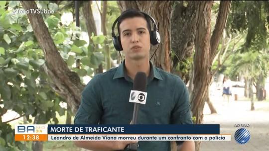 Homem apontado como chefe do tráfico em Tanquinho morre em confronto com policiais em Salvador