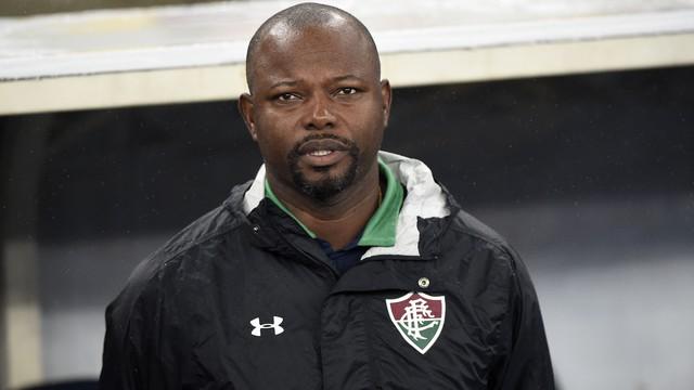 Marcão, técnico do Fluminense, na partida contra o Palmeiras