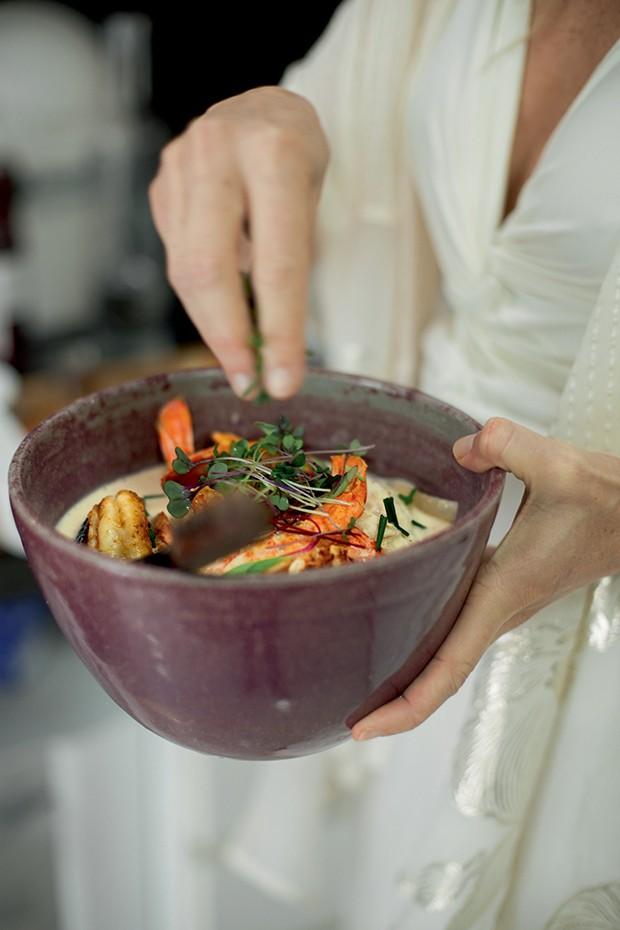 Lifestyle natal entre amigas - Curry vermelho  de frutos do mar (Foto: Mayra Azzi)