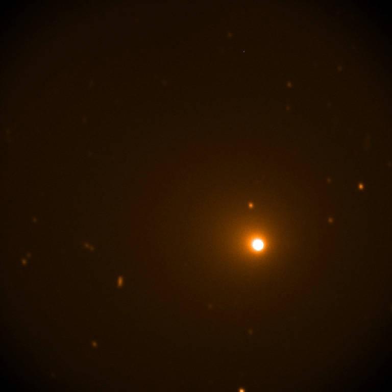 Passagem do cometa mais brilhante de 2018 (Foto: NASA/SOFIA)