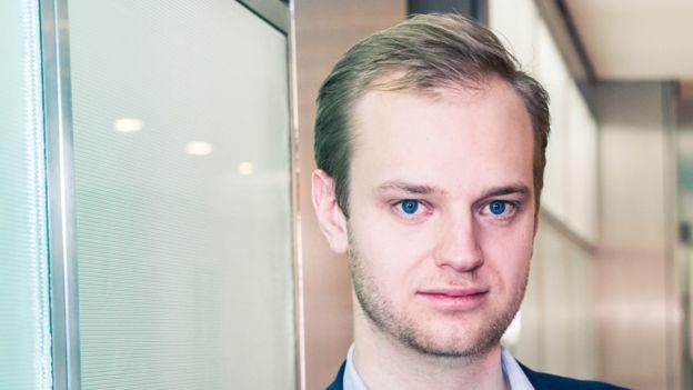 Alexander Rinke teve a ideia para seu negócio enquanto estava na universidade (Foto: CELONIS via BBC News Brasil)