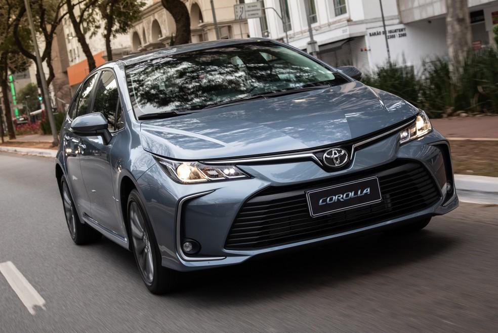 Toyota Corolla XEi 2020 — Foto: Divulgação/Toyota